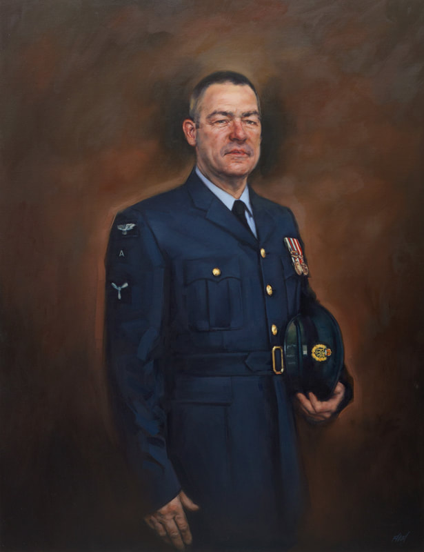 SAC Simon Hartley MRICS, ACICM,  Oil on Canvas 2015                 Private collection UK